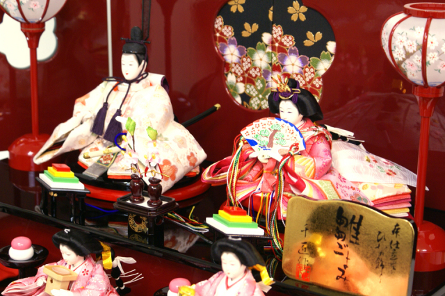 雛人形 収納三段 45A-46