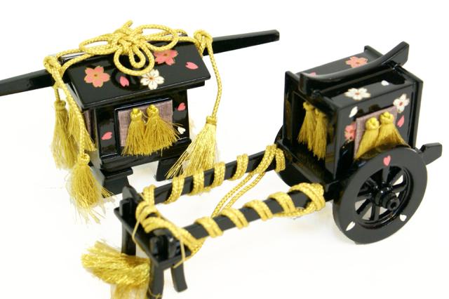 雛人形 収納式三段 45a-34