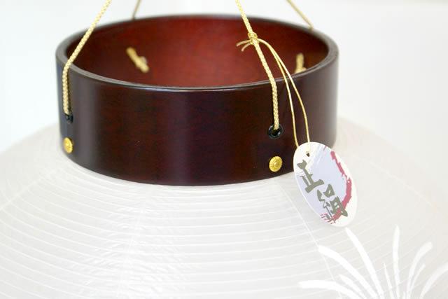 盆提灯 青雲別選絹 絹二重絵入 (8-F153)送料無料