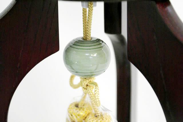 盆提灯 美吉野 絹二重絵入 11号 (859-3971)送料無料