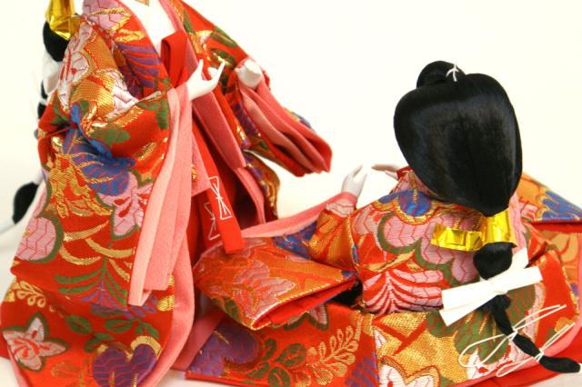 雛人形 十二単衣 37N-2