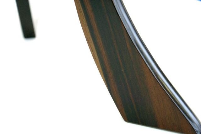 盆提灯 雲竜 黒檀色10号二重張り 1対(K-85)